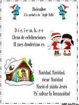 Cancion de diciembre y otras novedades / December Calendar Song and other news