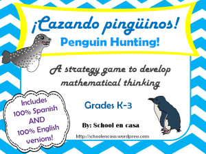 Cazando Pinguinos Free Math Strategy Game