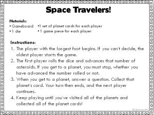 Board Game Solar System