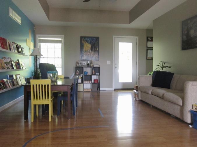 Homeschool Living Room