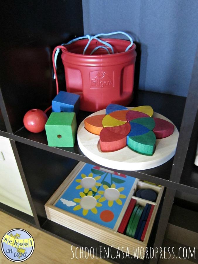 Vida práctica y mates Montessori