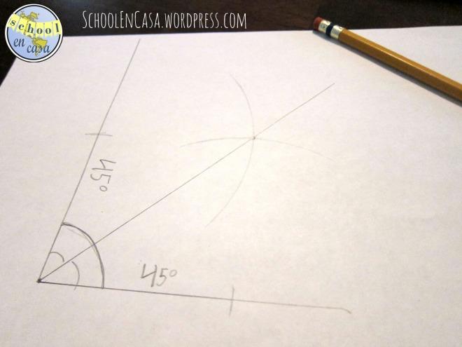 Bisecar ángulos | Bisect angles