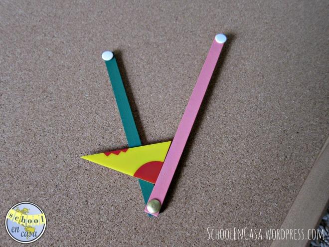 ángulo agudo | acute angle