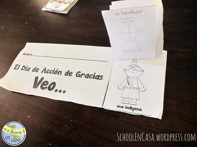 Libritos solapa de otoño en castellano