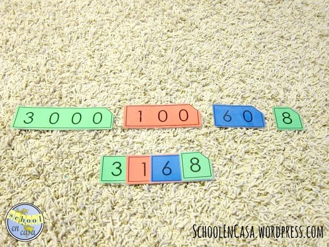 Montessori Singapore Number Cards