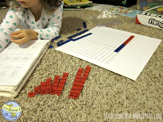 Tabla de la suma Montessori
