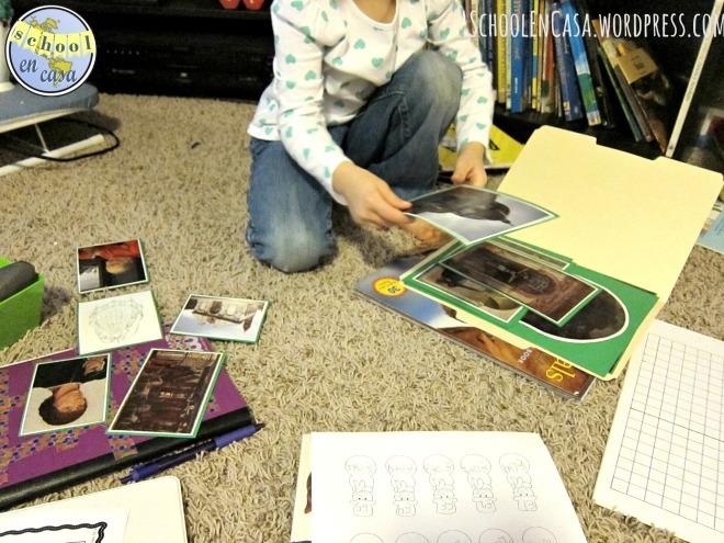 Carpetas de arte Montessori