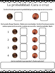 Monedas y probabilidad