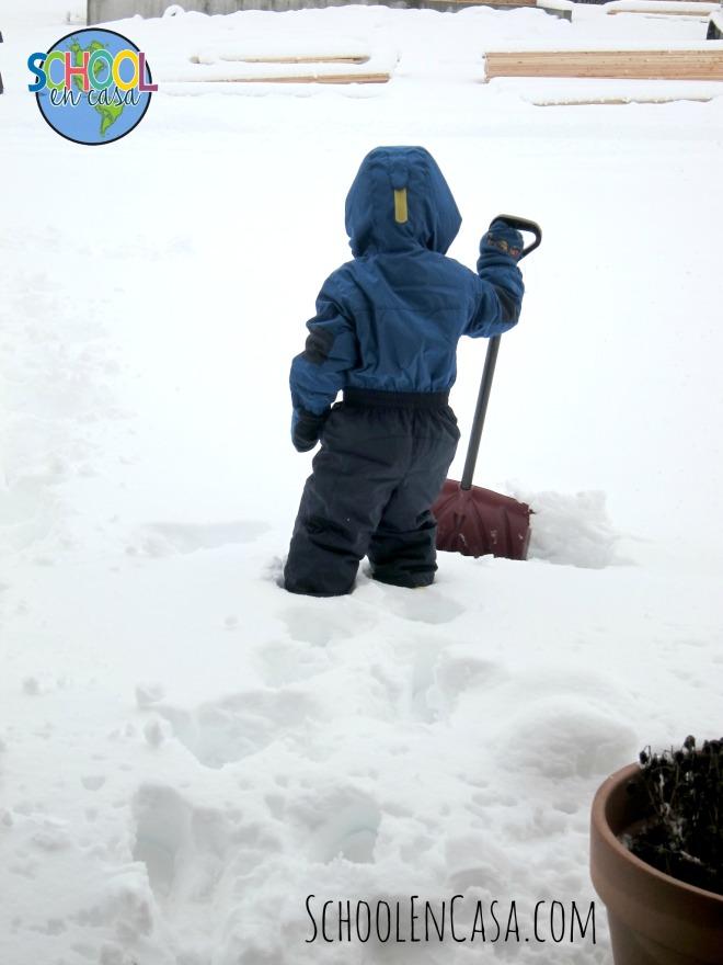 Nieve! Snow!